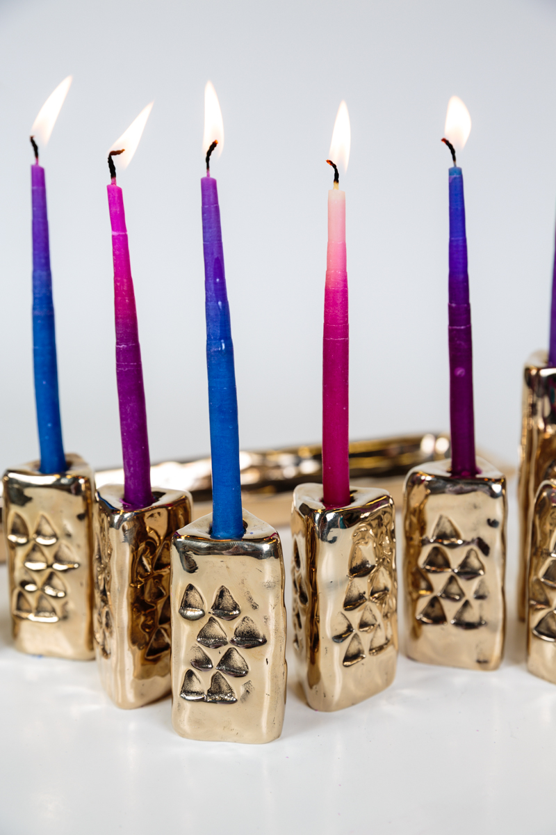 Judaica -  Menorah of Multi-Configurations