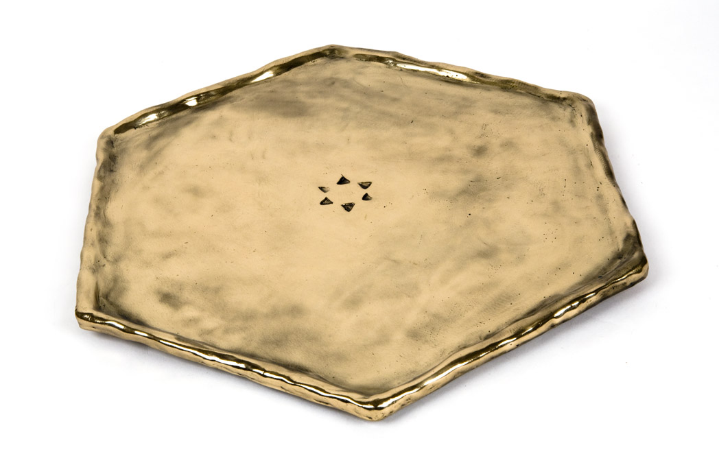 Judaica - Kabbalah Seder Plate  without trays